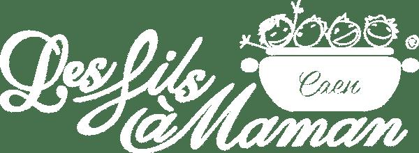 Logo blanc restaurant Caen