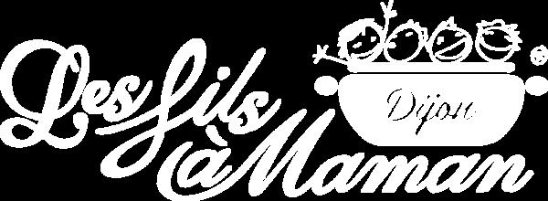 Logo blanc restaurant Dijon