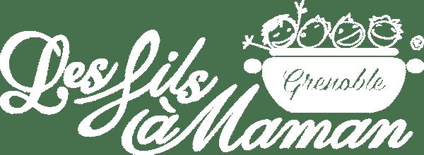 Logo blanc restaurant Grenoble