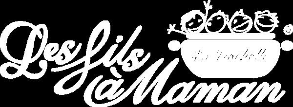 Logo blanc restaurant La Rochelle