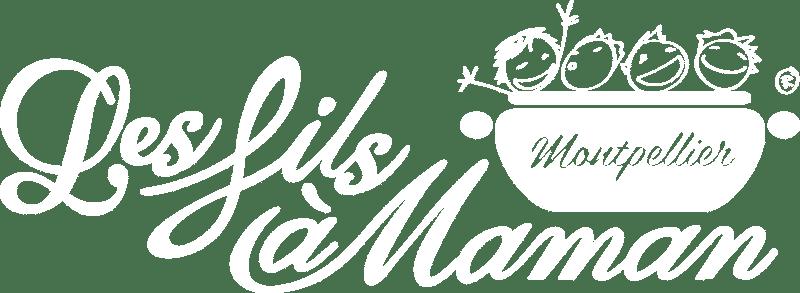 Logo blanc restaurant Montpellier