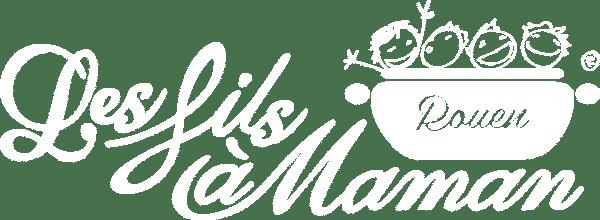 Logo blanc restaurant Rouen