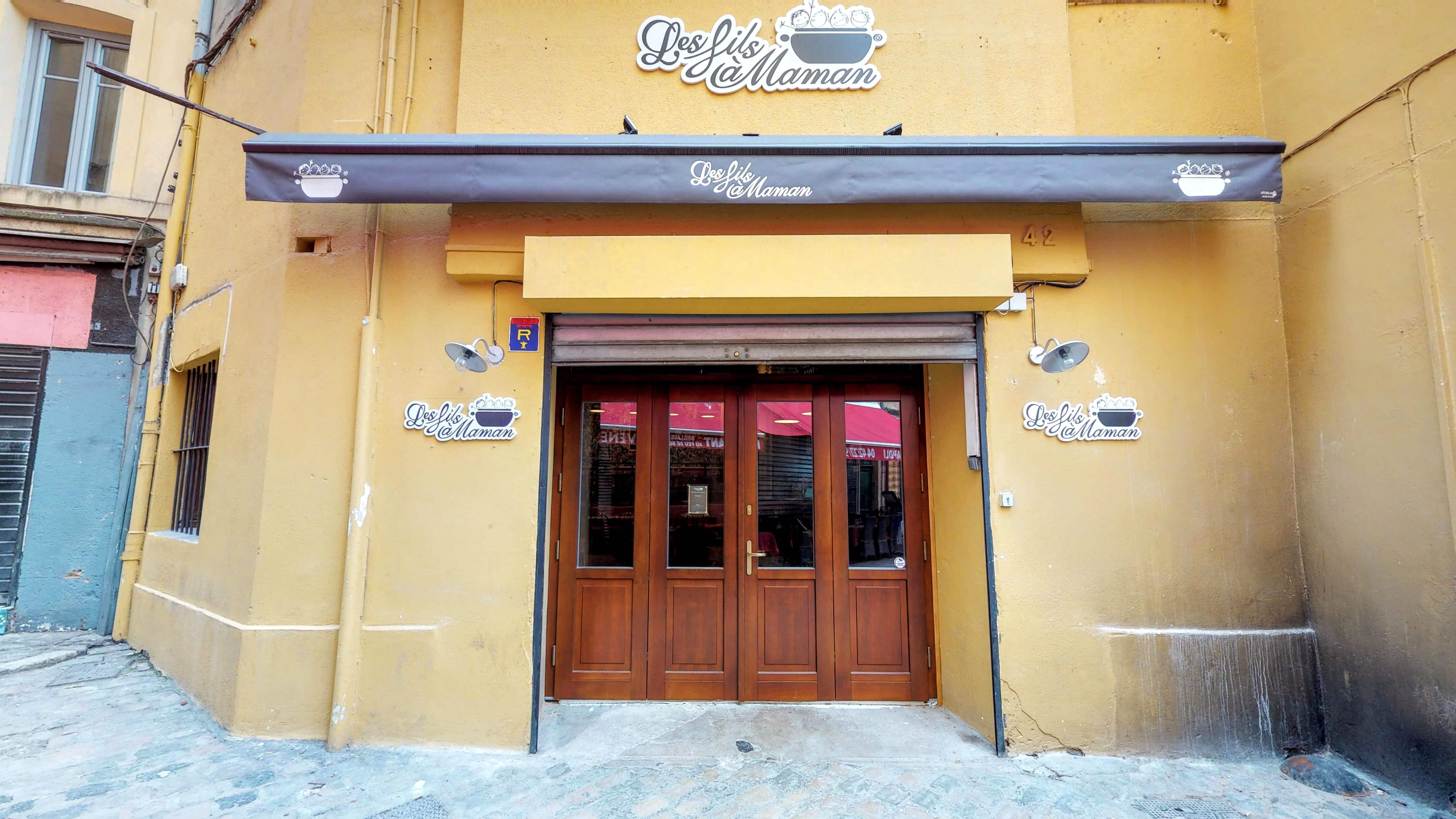 Photo de notre restaurant à Aix en provence