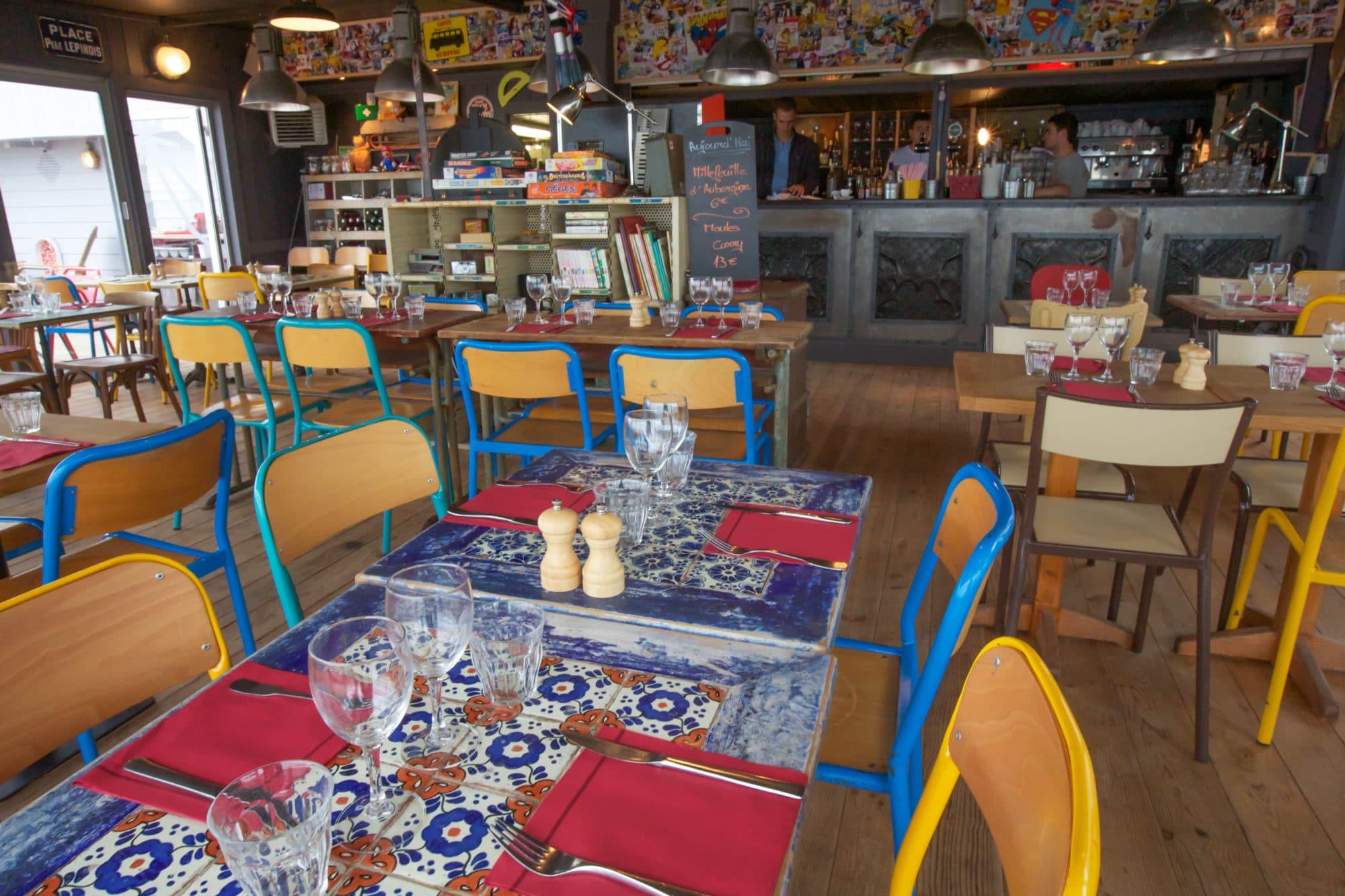 Décoration restaurant sympa à La Baule