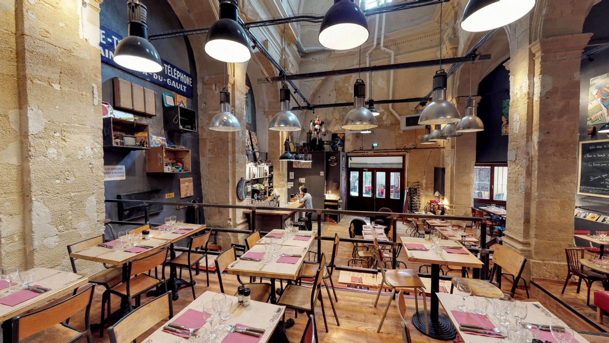 Décoration restaurant sympa à Aix en provence