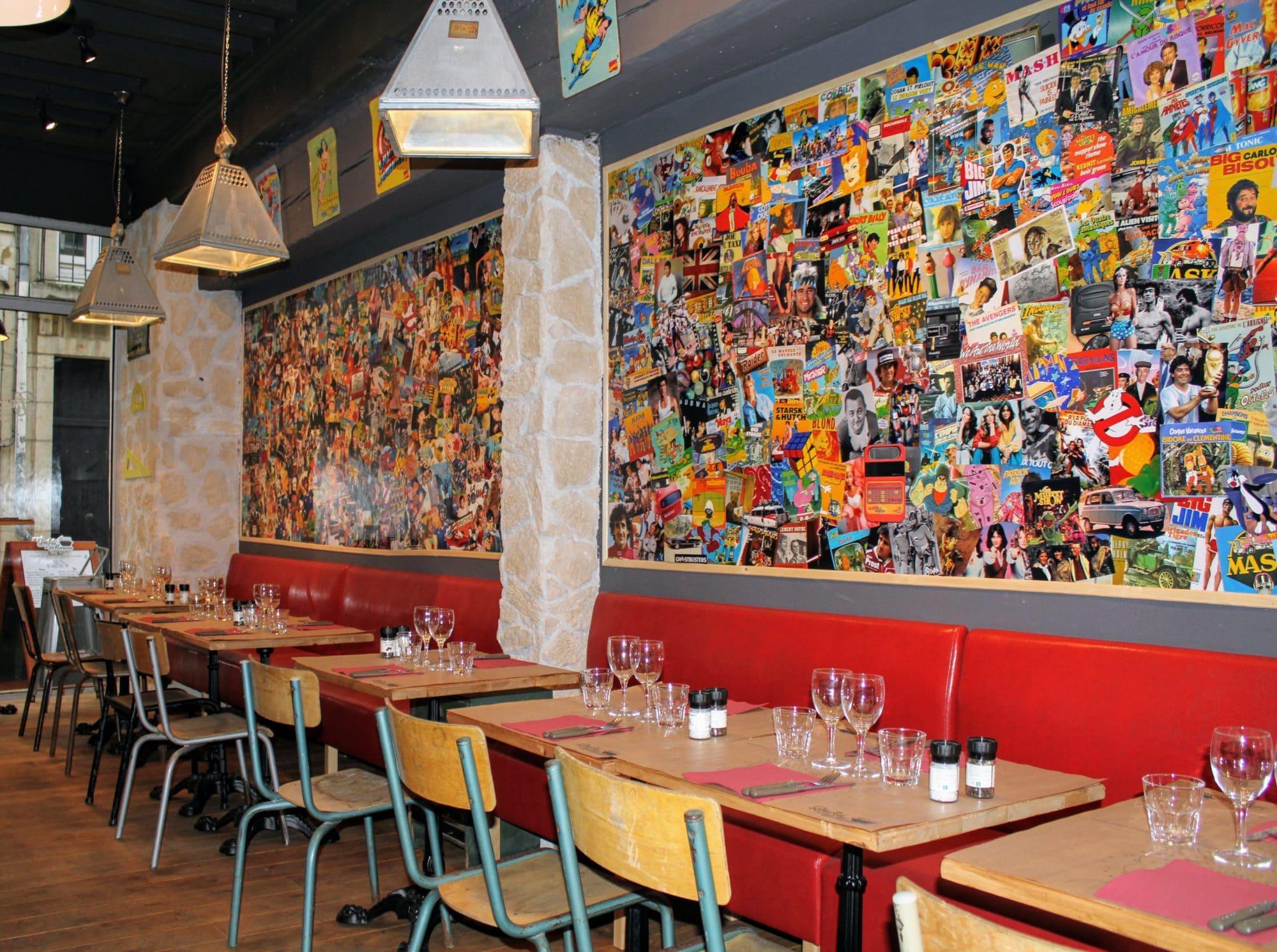 Salle ou terrasse de restaurant à Dijon