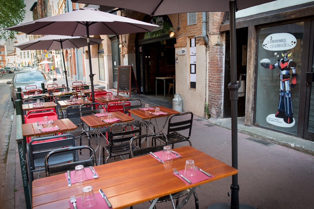 Photo de notre restaurant à Toulouse Carmes
