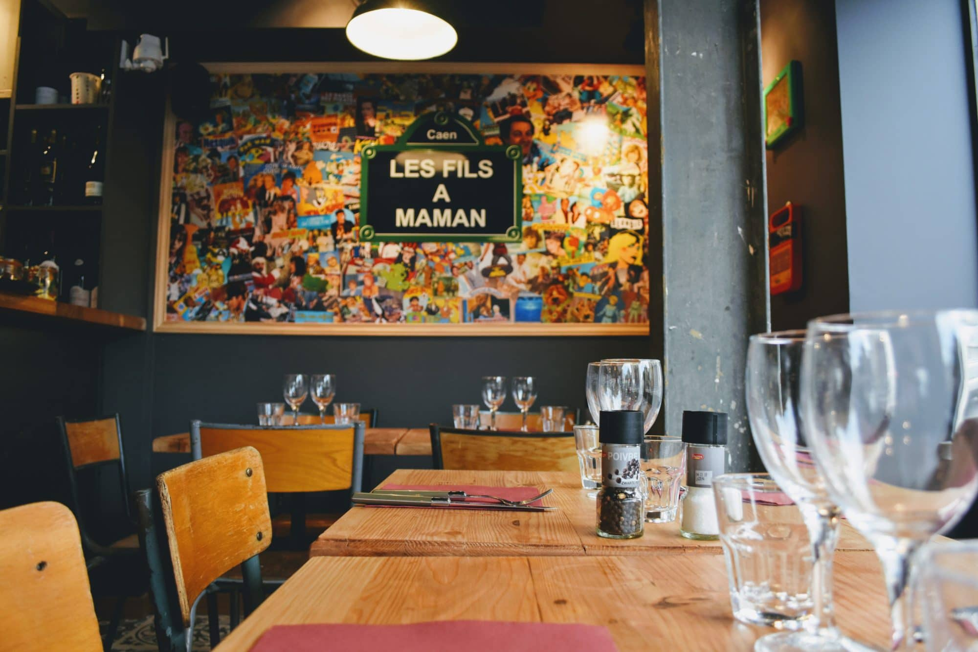Salle ou terrasse de restaurant à Nantes Bouffay