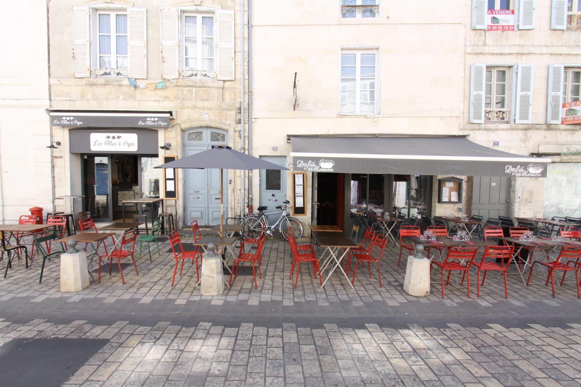 Salle ou terrasse de restaurant à La Rochelle