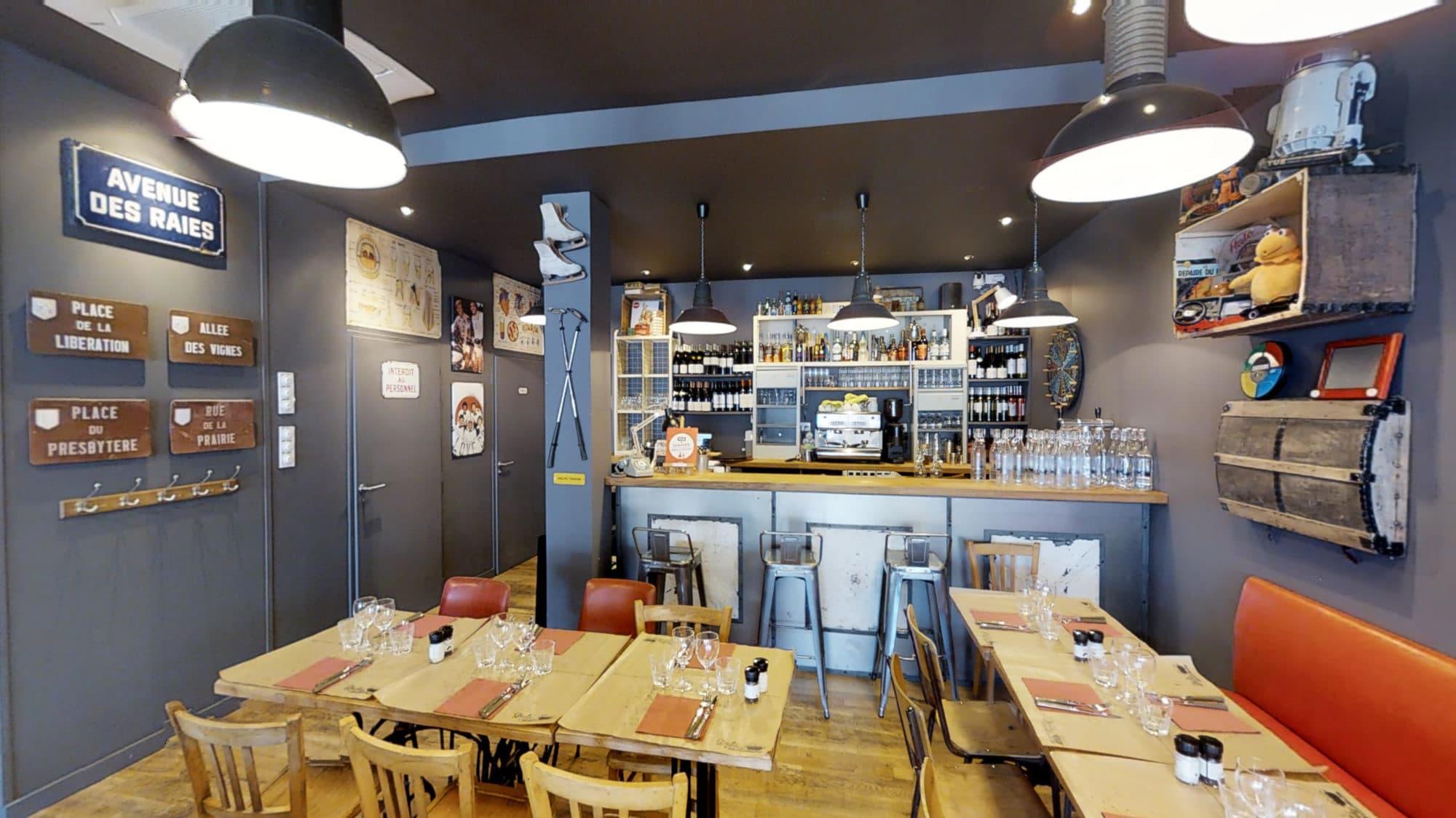 Décoration restaurant sympa à Sète