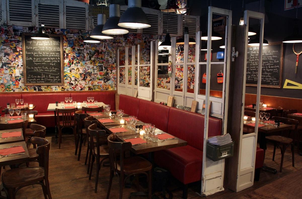 Photo de notre restaurant à Lyon